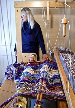Weaving at the octagon House